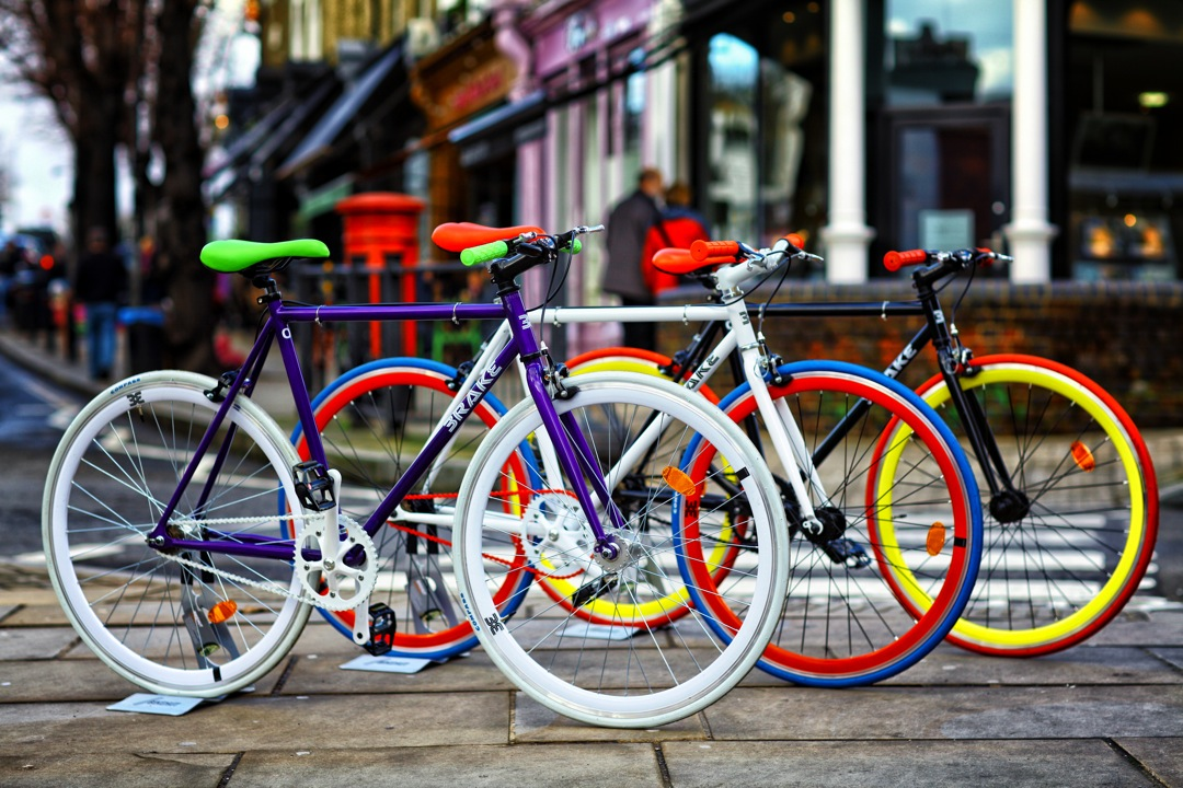 STAY FIT AND SSAVE THE PLANET WITH BRAKE BIKES