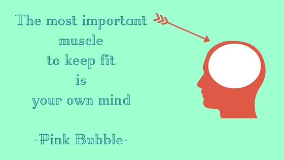 The most important muscle to keep fit is your own mind