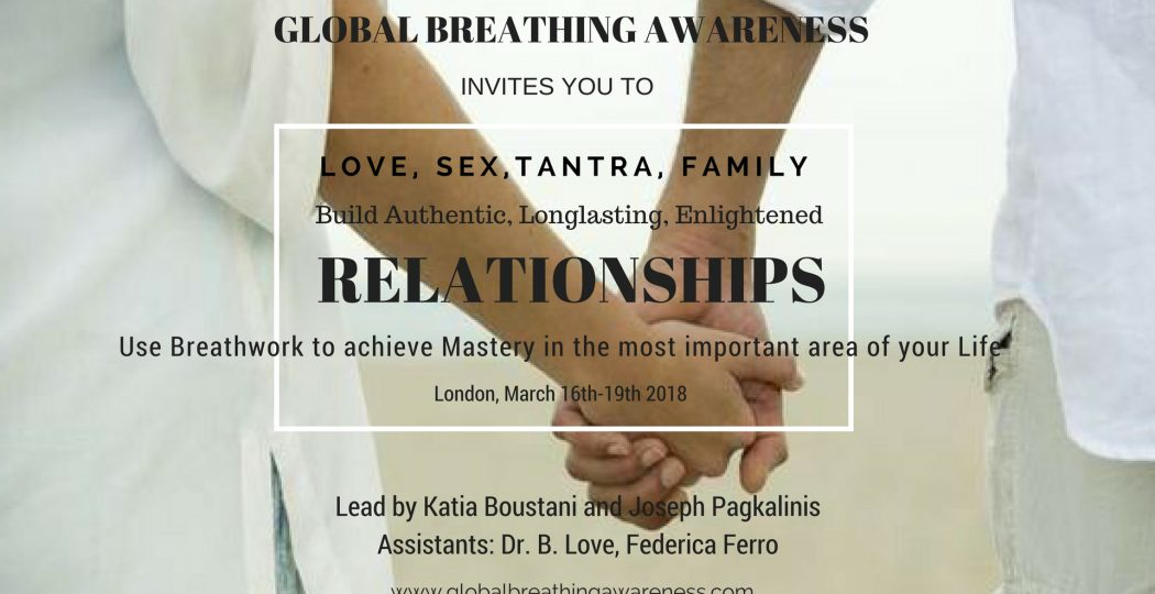 Rebirthing, tantra and Conscious Breathing workshop